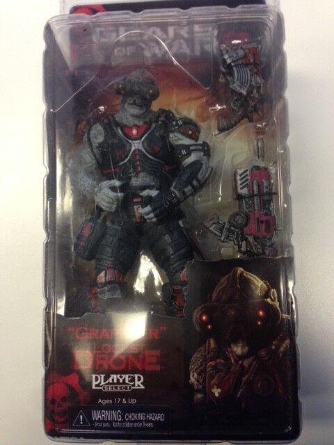 Gears of war 2 s é rie 3 grappler heuschrecke drohne avec maske   7  neca mit maske