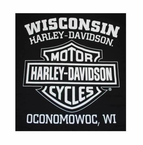 Harley-Davidson Men/'s Knucklehead Engine Authentic T-Shirt Black 30298302