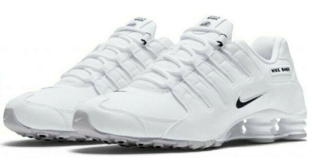 Nike Shox NZ EU White Black 501524-106 Running Shoes Men's Size 11