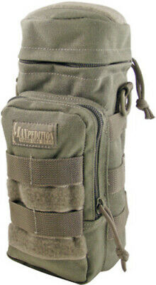 """Maxpedition Bottle Holder Khaki 0325K Measures 10/"""" x 4/"""" Padded with drainage gr"""