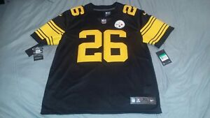 buy online c8cdb 83fdb Details about LEVEON BELL #26 STEELERS COLOR RUSH LIMITED FOOTBALL JERSEY  X-LARGE NWT