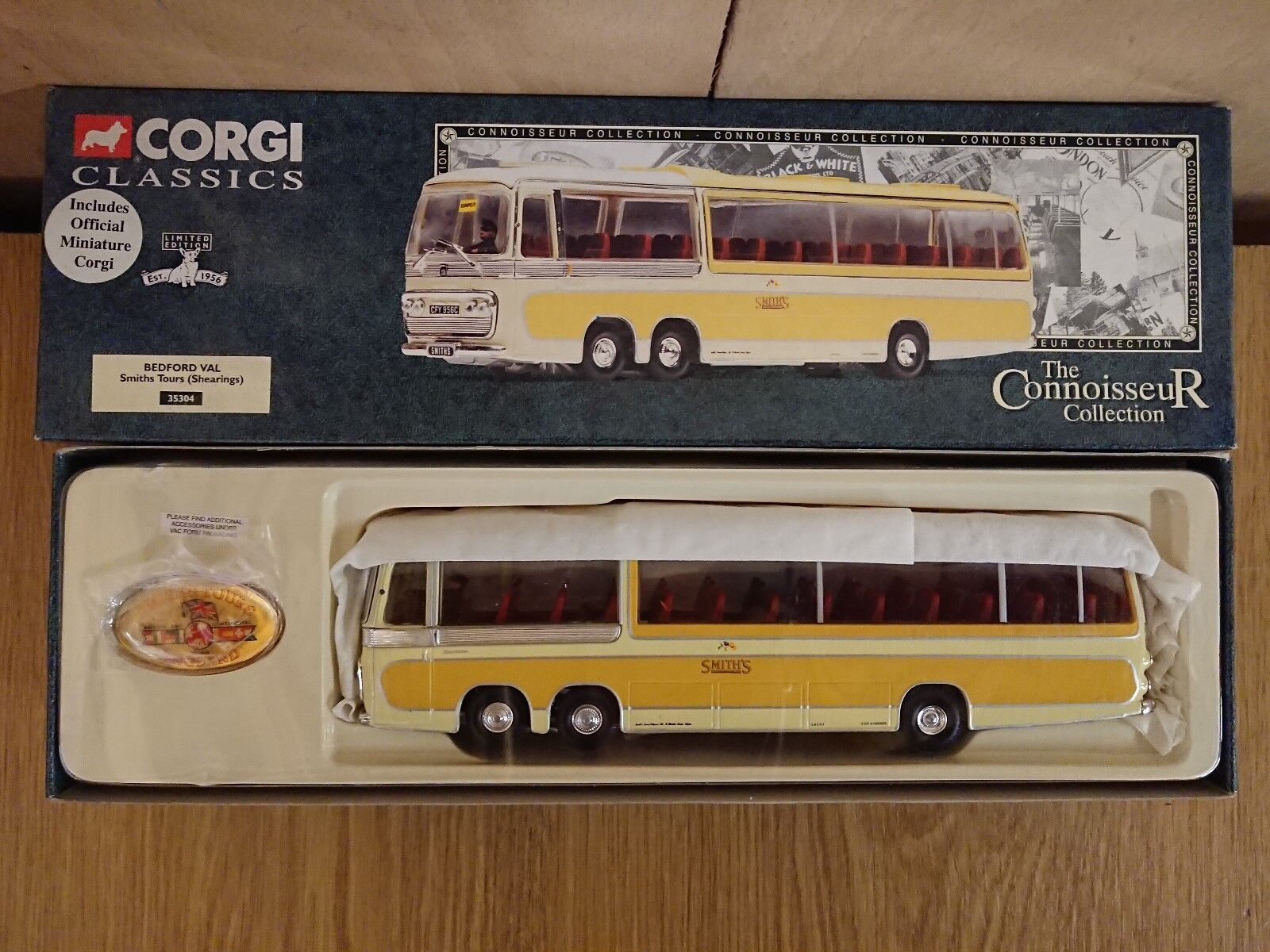 Corgi Clásicos 35304 Bedford Val Smiths Tours (shearings) Ltd Ed Nº 0004 de 5000