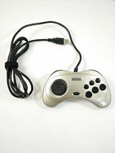 Sega-Saturn-USB-Controller-Original-Metallic-Champagne-Gold-Gamepad-PC-SLS-2004