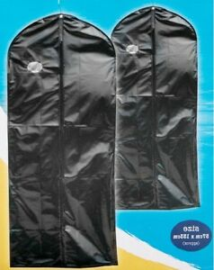 2x-Travel-Dress-Suit-Bags-Cover-Wedding-Garment-Clothes-Storage-Carrier-Hanging