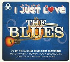 I JUST LOVE THE BLUES - 3 CD BOX SET - MUDDY WATERS, ELMORE JAMES & MUCH MORE