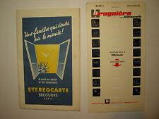 STEREOCARTE BRUGUIERE LE MONT DORE ET ENVIRONS SERIE 2 N° 2127.2
