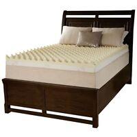 ULTRA COMFORT SOFT 4 INCH 3-LB MEMORY FOAM BED MATTRESS TOPPER NEW! FULL SIZE