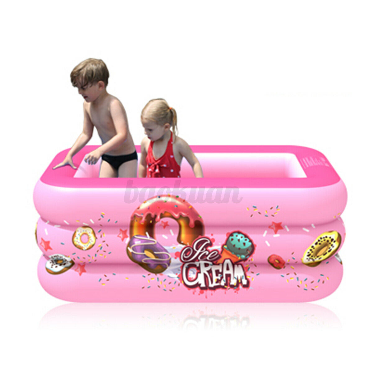 Portable Inflatable Swimming Water Pool Kids Children Home Use Outdoor