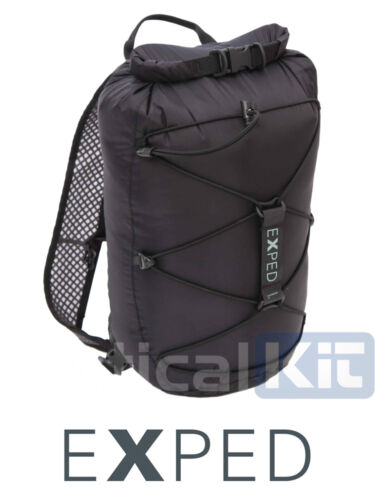 EXPED 100/% Waterproof Cloudburst 25 Litre Dry Pack Black Free Delivery!!