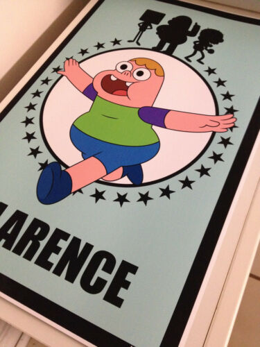 """Clarence 17/""""x26/"""" poster print"""