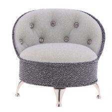 CM TOYS 1//6 Black Single Sofa Chair House Furniture House Scene Model Toy