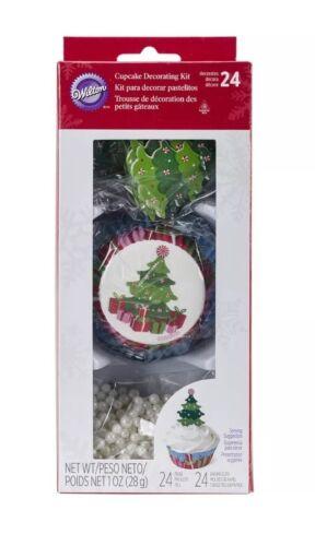 Cupcake Decorating Kit Makes 24-Christmas Tree 070896103437