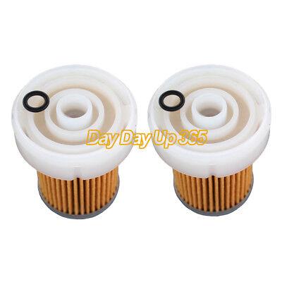 2x Fuel Filter with O-Rings For Kubota B2301 B2320 B2410 B26 B2601 B2630 B2650