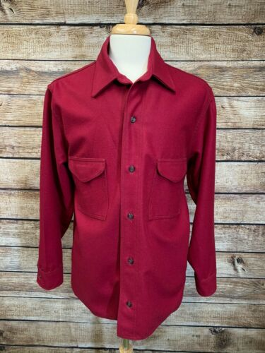 *Mint* Filson Jac Shirt Mackinaw Double Pocket Dar