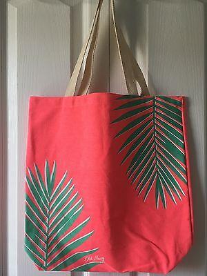 Pool Bag Tropical Palm Leaves Beach Bag
