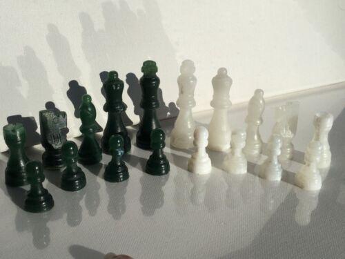 Pieces Jade Color Chess Set Unique Colors Fun Educational Toys Games Gift