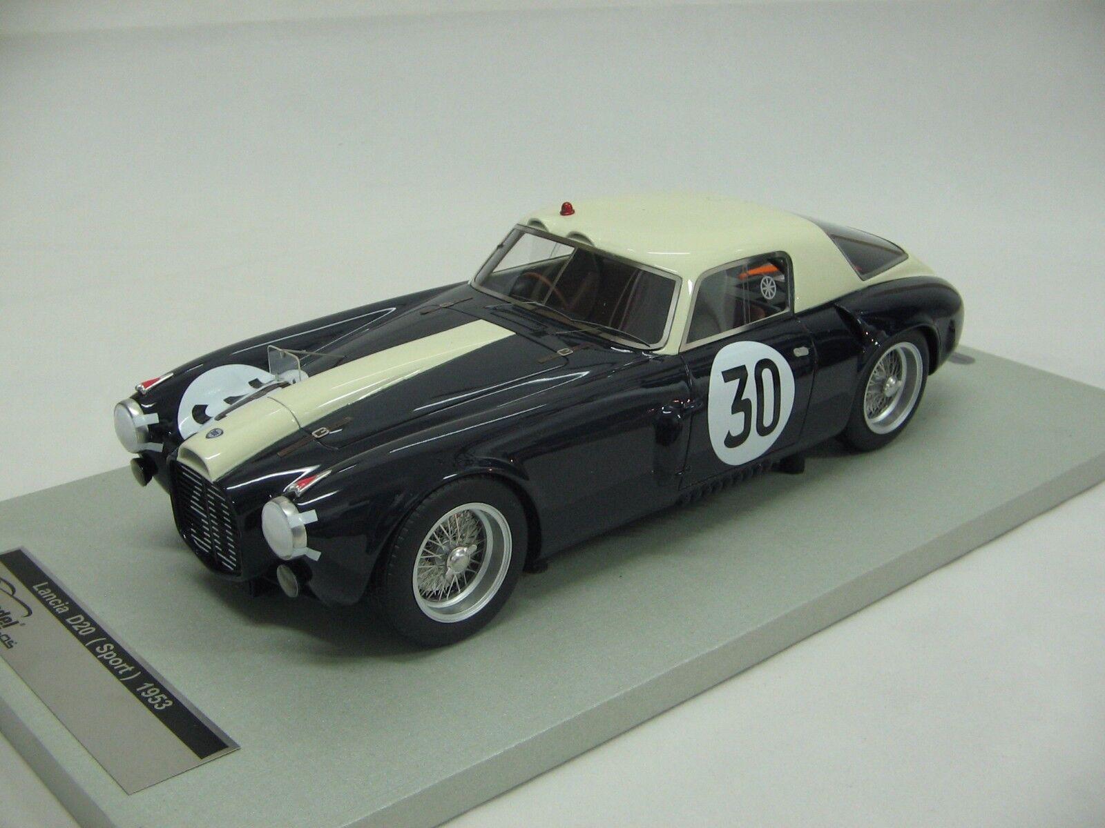 1 18 scale Tecnomodel Lancia D20 Corsa Coupè Le Mans 24h 1953 car  30 - TM18-41A