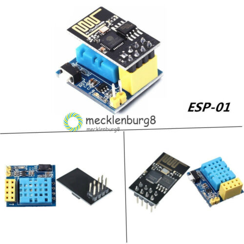 ESP8266 ESP-01//01S DHT11 Temperature Humidity WiFi Module Wireless Module+Shiled