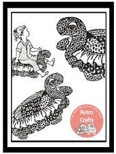 Childrens TV Turtle Floor Cushion  -  Toy Pattern   -  Pattern Copy