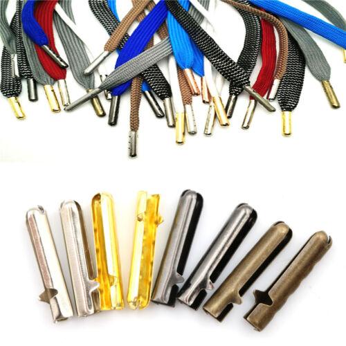 10pcs Metal DIY Shoelaces Repair Shoe Lace Tip Replacement End Shoelace Craft cb