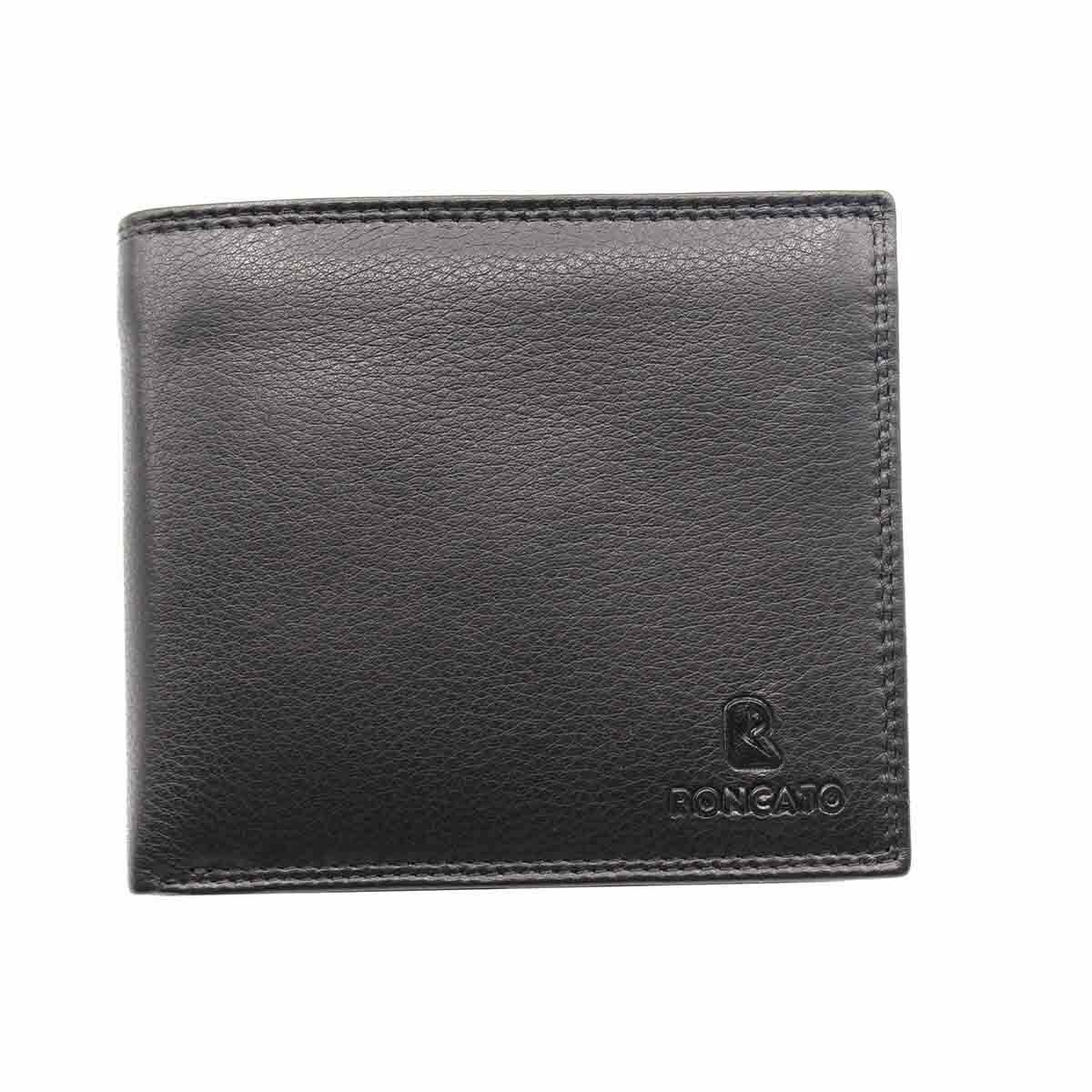 Men's Wallet, Genuine Leather Credit Card Holder Banknote Card Photo R Roncato