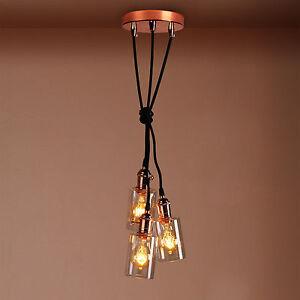 Lamp fittings for bottles