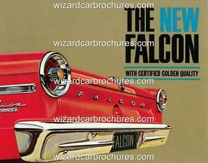 1964 XM FORD FALCON A3 POSTER AD BROCHURE ADVERTISEMENT ADVERT