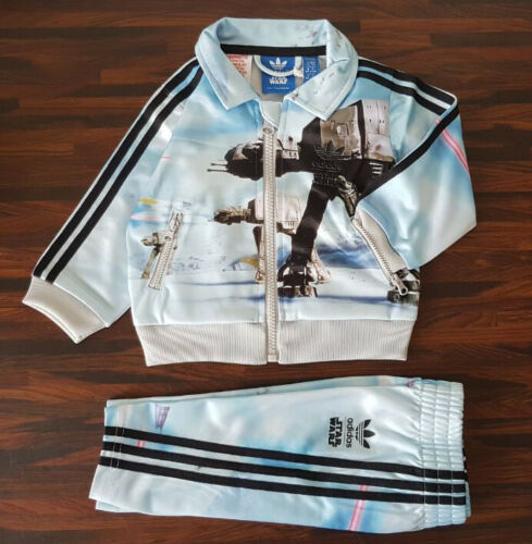 adidas Star Wars Archive Sportanzug Trainingsanzug ATAT Dark Vader  Baby//Kids