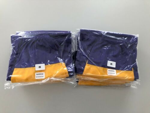 LA Kings Mens Hockey Socks Purple With Gold Brand NEW! REVISED PRICE!
