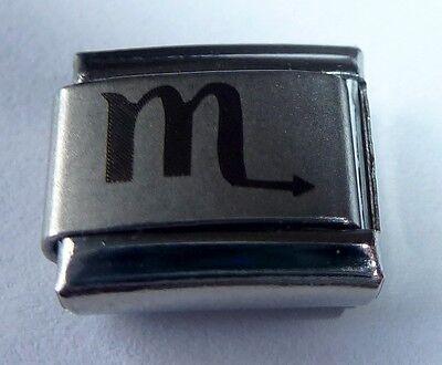 SCORPIO Italian Charm - Zodiac Sign Horoscope fits 9mm Classic Starter Bracelets