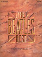 The Beatles Best Sheet Music Guitar Book 000696081