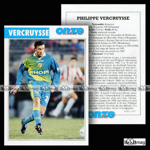 VERCRUYSSE-PHILIPPE-FC-METZ-FC-SION-RC-LENS-Fiche-Football-1997
