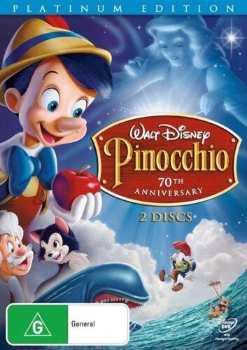 1 of 1 - PINOCCHIO 70th Anniversary Platinum : NEW 2-DVD