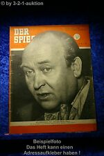 Der Spiegel 30/52 23.7.1952 Kellerkinder Seelen Frou Frou Regisseur R.A. Stemmle