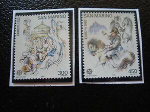San-Marino-Briefmarke-Yvert-Und-Tellier-N-1055-1056-N-A22-Briefmarke