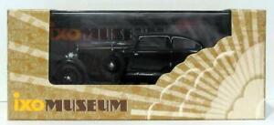 IXO-MODELS-1-43-SCALA-DIECAST-MUS003-1930-Bentley-SPEED-Six-NERO-VERDE-SCURO
