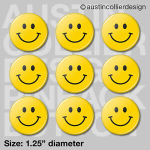 9-HAPPY-FACE-1-25-034-pinback-buttons-badges-smiley-smile-awesome-pins
