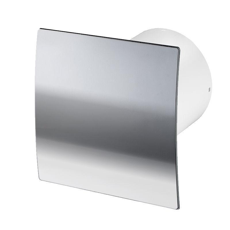 Leise Badezimmer Extraktor Ventilator 100mm With Poliertes Chrom Frontplatte     | Ruf zuerst  | Starke Hitze- und Hitzebeständigkeit  | Moderner Modus