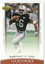 RAGHIB ROCKET ISMAIL 2006 Upper Deck Legends Football card #47 Oakland Raiders