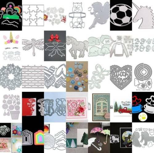 Cutting Dies Metal Stencil DIY Scrapbooking Embossing Paper Card Craft Dies
