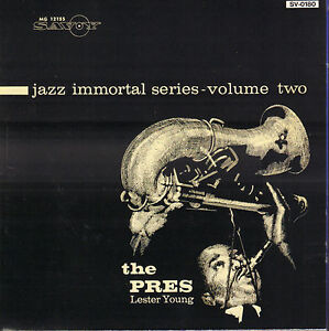 LESTER-YOUNG-THE-PRES-1992-SAVOY-JAZZ-CD-REISSUE-JAPAN