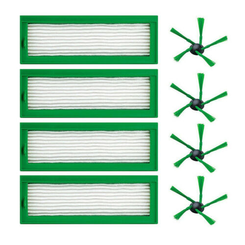 Parts Side Brush Hepa Filters for Vorwerk Kobold VR200 VR-200 Vaccum Cleaner