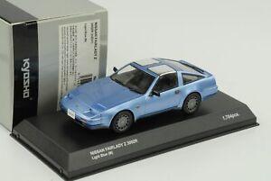 Nissan-Fairlady-Z-300-ZR-Hz31-1986-RHD-Azul-Claro-Metalico-Kyosho-1-43