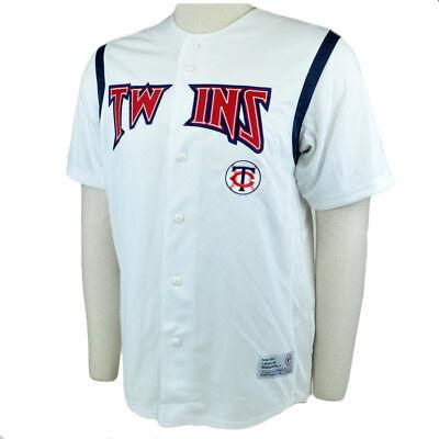 Effizient Mlb Minnesota Twins Baseball Team Trikot Hemd Echt Fan Star Lizenziert Medium Md Sport