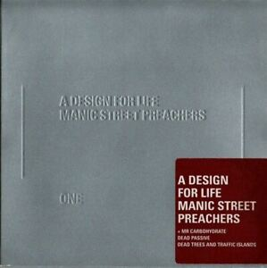 MANIC-STREET-PREACHERS-a-design-for-life-CD-Single-Indie-Rock-very-good