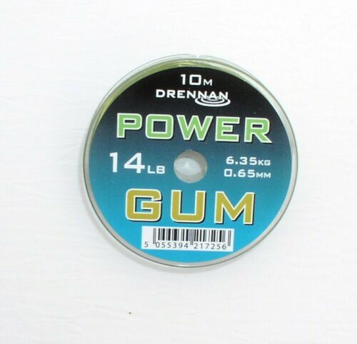 Feederfischen 10 Meter Spitzen Shock-Absorber Drennan Green Power Gum Feedern