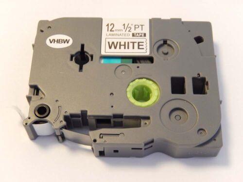 2450DX 2450CC original vhbw® Schriftband Tape 12mm für BROTHER P-Touch 2450