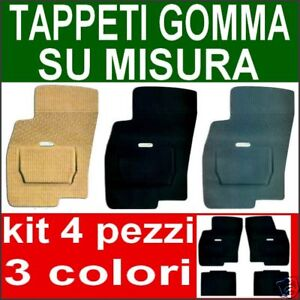 AUDI-A2-A3-A4-A6-Q5-TAPPETI-in-GOMMA-SU-MISURA-per