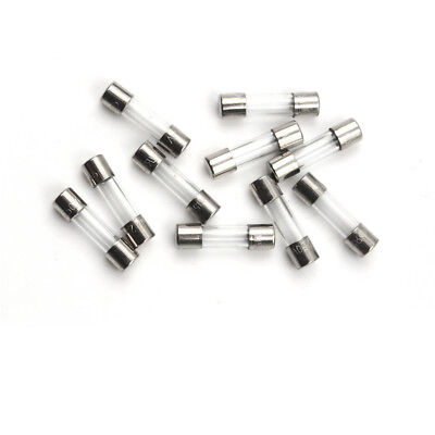 10x Glass Tube Fuse 5 x 20mm F315mA 315mA 0.315Amps F0.315A 250V Quick Fast Blow