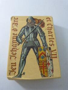 jeu-de-cartes-JEHANNE-D-039-ARC-ET-CHARLES-VII-EDITIONS-J-C-DUSSERRE-cpnb1